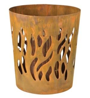 Swedish torch burner rust. Met