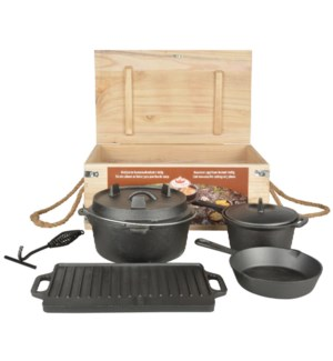 Dutch Oven Cookingset 7 pcs. C