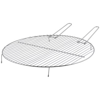BBQ grill for firebowl S. Carbon steel. 52,0x51,5x5,4cm. On Sale 35 percent off