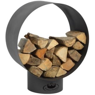 Round wood storage - 23.25x15.25x28.5 inches