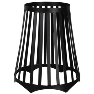 Fire basket for fire bowl,  - 15x15x17.6in.