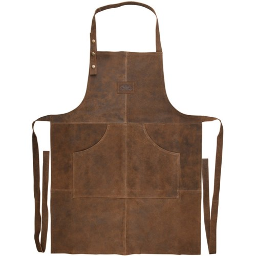 BBQ Apron Leather