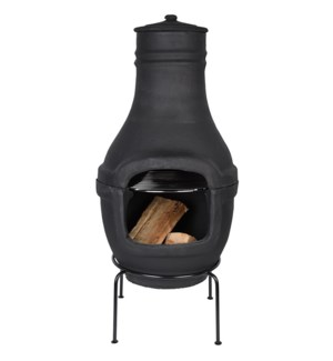 Terrace Heater Terracota Black L