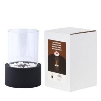 Bioethanol fireplace round - 7.4x7.4x10.6in.