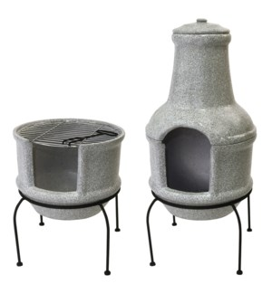 Firepit/ BBQ ceramic concretel