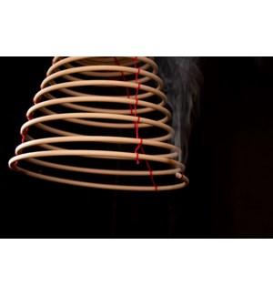 Citronella coils hanging S