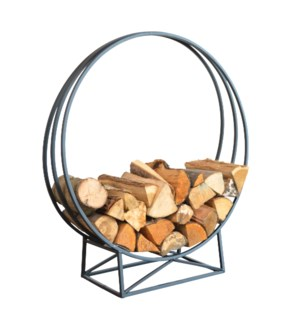Wood storage round