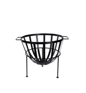 Fire basket semi sphere
