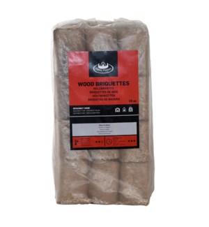 Wood briquettes