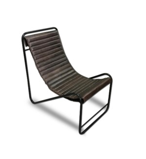 Jaques Iron Leather Chair