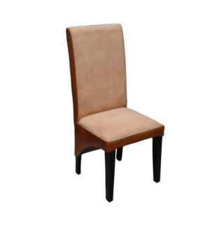 Dining Chair in Leather & Canvas