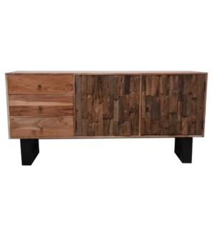 Sleeper Wood Sideboard With 2 doors
