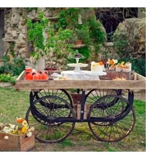 Iron Thela Cart