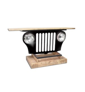Iron Jeep Table BLK