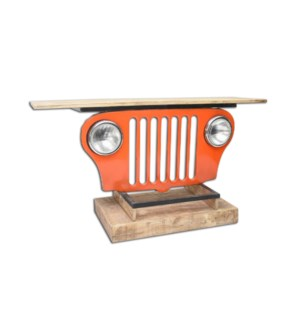 Iron Jeep Table ORG