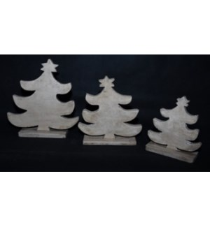 WD WHITE ANTIQUE CHIRSTMAS TREE