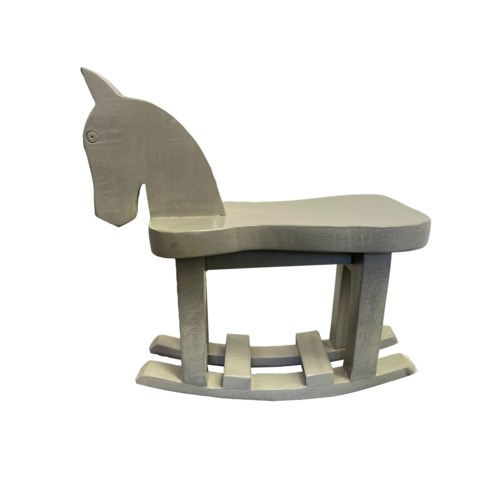 WD ROCKING HORSE WITH GERY