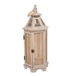 Long shaded wooden lantern