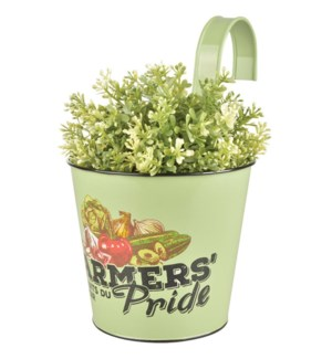 Farmers' Pride flower pot OS