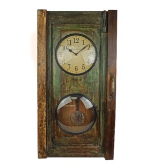 """Recycled Window Clock,showroom"""