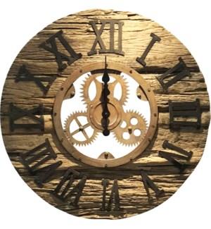 Sleeper Wood Clock