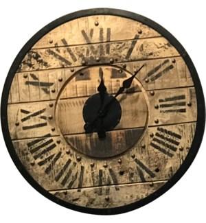 2 ft Oversize Industrial Clock