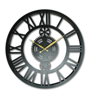 Iron Industrial Clock