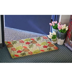 Fall Leaves Mat, 17.7x29.5 inches, 1.5 cm thick,