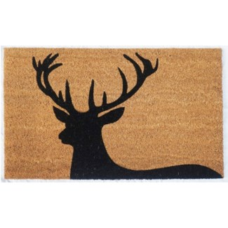 Regal Stag Mat, Black & Natural, 17.7x29.5 inches,1.5 cm thick, replaced by RB210