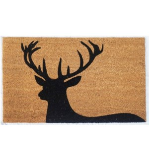 """""""Regal Stag Mat, Black & Natural, 17.7x29.5 inches,1.5 cm thick, replaced by RB210"""""""