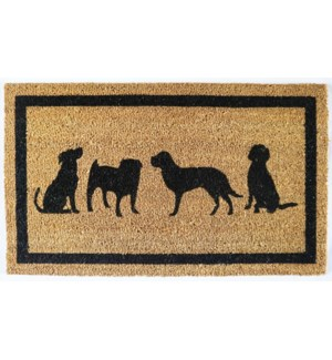 """Dog Doormat, Natural"""