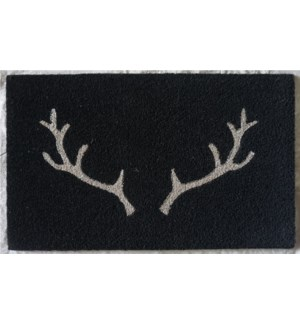 Antler Mat, 17.7x29.5 inches, 1.5 cm thick, Glitter Finish