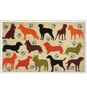 Coloful Doggy Doormat