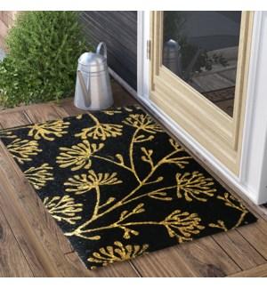 """Floral Doormat, 18x30in"""