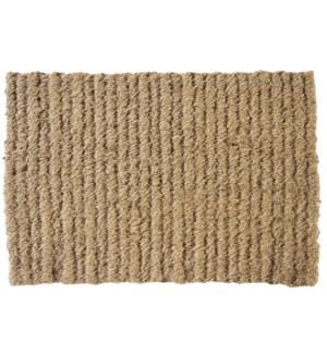 """""""Natural Coir Doormat, 18x30in"""""""