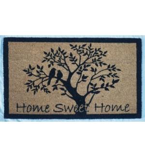 """""""HOME Doormat, Natural, 16x24in"""""""