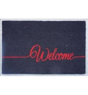 """""""Welcome Doormat Fluorescent, OS"""""""