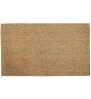 """Classic Natural Doormat, 16x24in"""