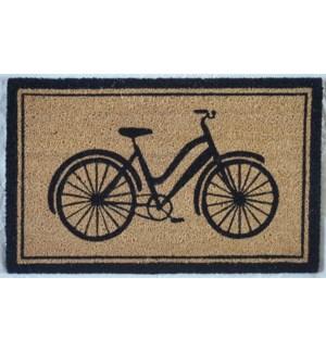 """""""Bicycle Doormat, 16x24in"""""""