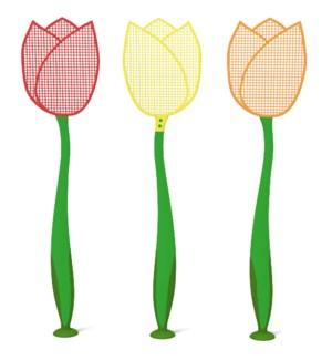 Fly swat tulip ass.