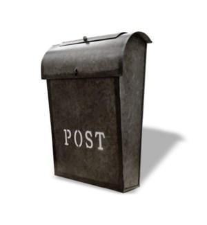Emily POST Mailbox Rustic Metal