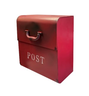 """CJ Mailbox, Rustic Red"""