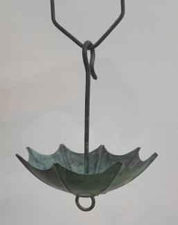 Umbrella Rain Chain, Patina Copper,  8 ft(96 In.)