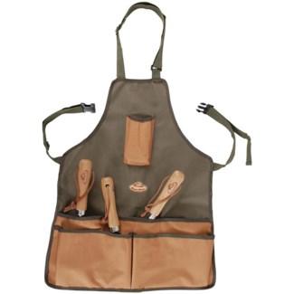Gardentool apron. Canvas, polyester, PP. 45,5x1,0x74,0cm. oq/12,mc/48 Pg.73