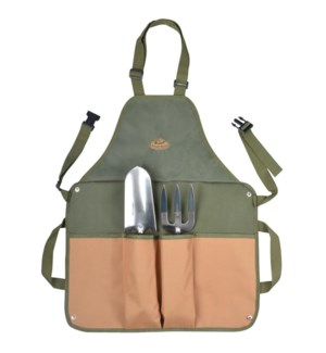 Gardentool apron with tools. C