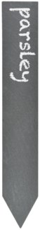 Slate plant marker set of 6 -  (7.7x1.2x1.6 inches) -
