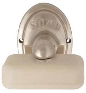 """Magnetic Soap Holder, Silver"""