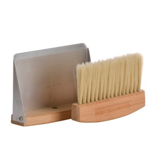 Table dustpan and broom