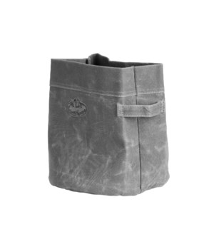Waxed canvas container M