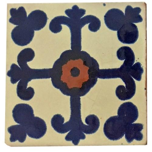 Coaster/Tiles Blue Cross Set/4